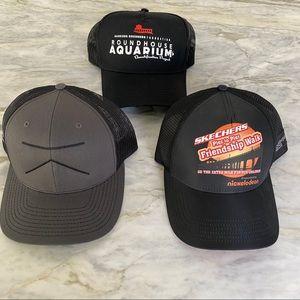 Men's Three Trucker Hat Bundle NEW!!! 3 for 1
